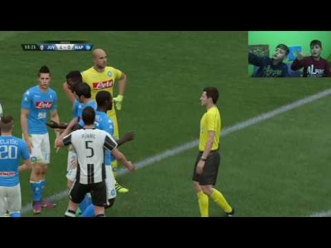 FIFA 17 ITA | Juventus vs Napoli | Full Gameplay ITA 2016