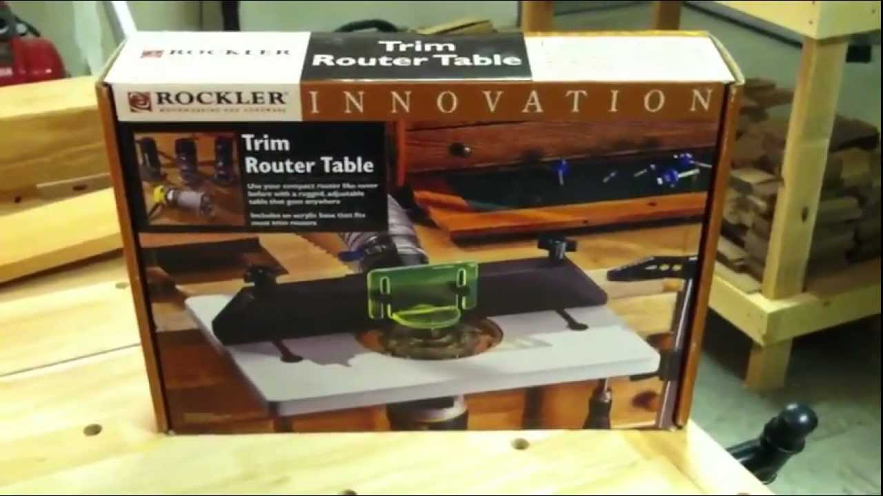 Rockler trim router table review youtube keyboard keysfo Images