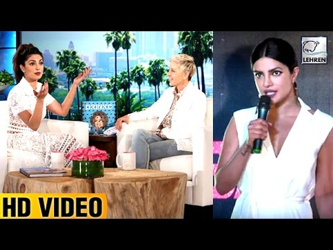 Thumbnail: Priyanka Chopra REACTS On Getting Insulted By TV Anchors In Hollywood | LehrenTV