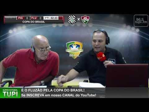 Figueirense 1 x 0 Fluminense - Copa do Brasil - 3ª Fase - 11/03/2020 - AO VIVO