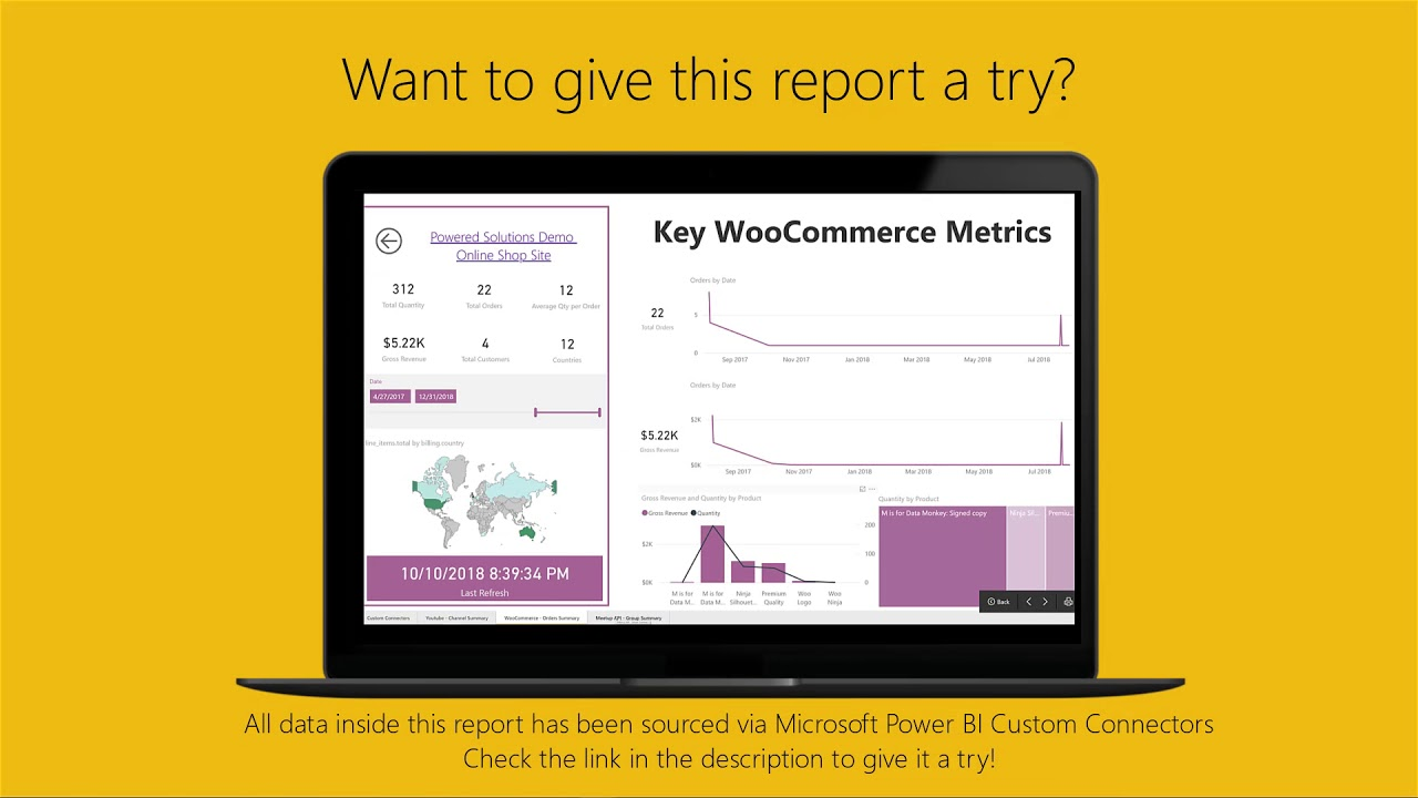 Custom Connectors for Power BI