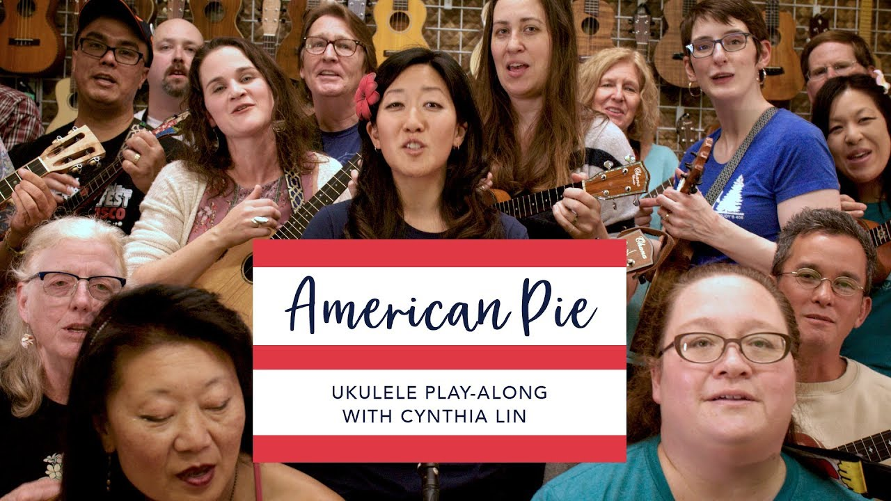 American Pie // Cynthia Lin Ukulele Play-Along (chords + lyrics)