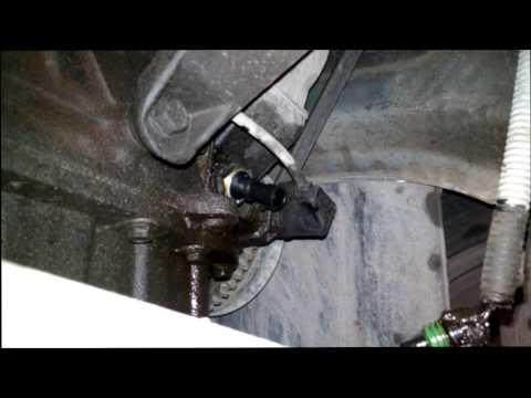 Daewoo Nexia - Замена датчика давления масло