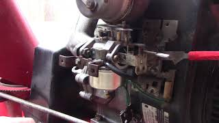 Gas leaking from small engine carburetor
