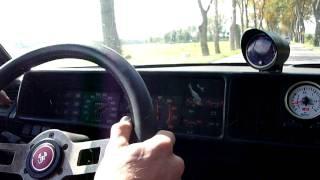 FIAT RITMO TURBO 1,3 BAR BOOST TEST