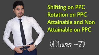 #7, Shifting and Rotation on PPC Curve ! Attainable - Non attainable - Class XI