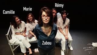 Rencontre avec Zabou Breitman et les comédiens de Logiquimperturbabledufou