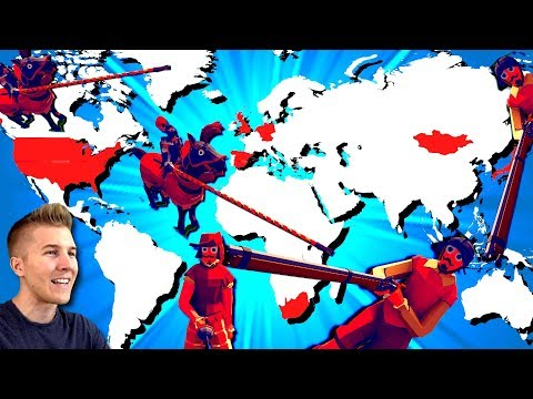 Recreating Battles in History From Around the World! (Totally Accurate Battle Simulator -TABS)