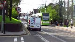 Video 1287 London Trams, 10 April 2014