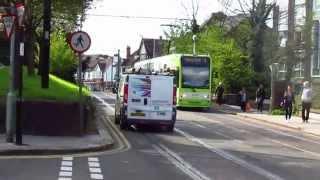 Video 1287 London Trams, 10 April 2014