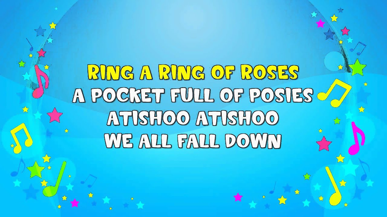 Lyrics for ring a ring a roses