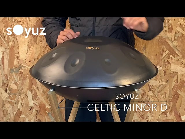 soyuz handpan celtic minor D