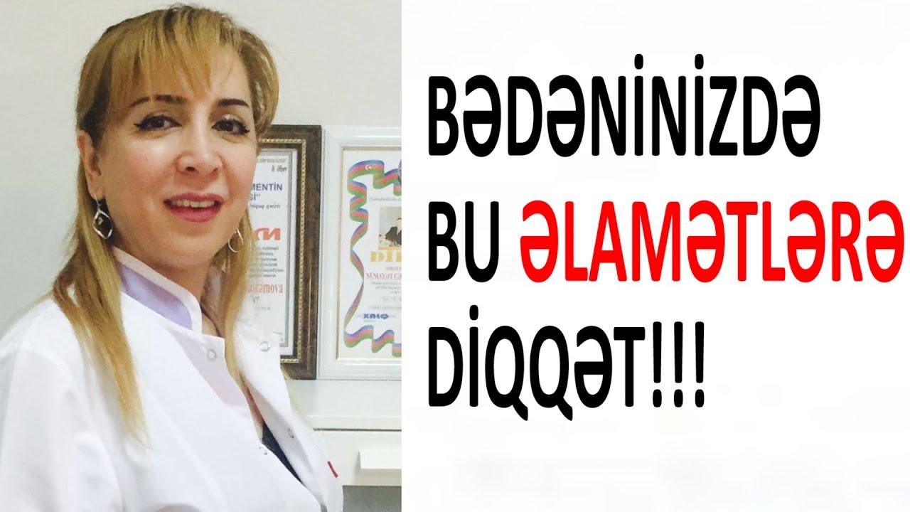Bədəninizdə QURD olduğunu göstərən ƏLAMƏTLƏR  /Dr. Maya Rüstəmova