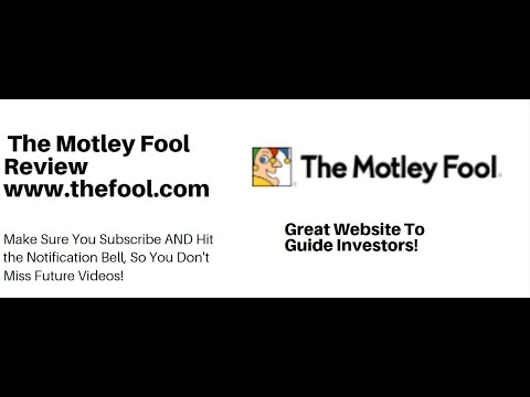 The Motley Fool Website Review For Investors. Great Website For Investors To Find Stocks To Buy !