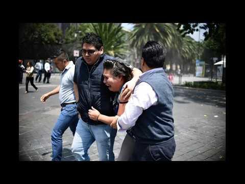 TERREMOTO EN MEXICO HOY 19 09 2017 VIDEOS E IMAGENES IMPACTANTES
