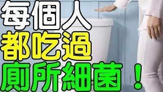 你知道我們每個人都 吃過「廁所裡的細菌」嗎?|健康享知識《享知識TV》