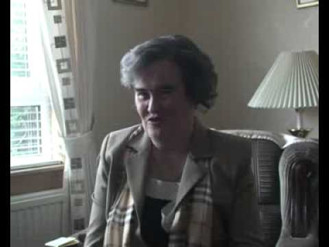 Susan Boyle from Britain's Got Talent first on camera interview