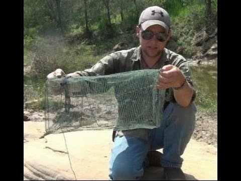 Bad Trap (Do Not Buy This Minnow / Crawfish Trap)