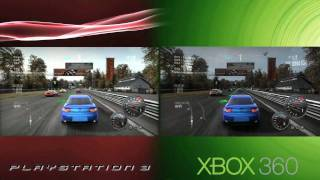 Need for Speed: Shift 'PS3 vs. Xbox 360 Comparision' TRUE-HD QUALITY
