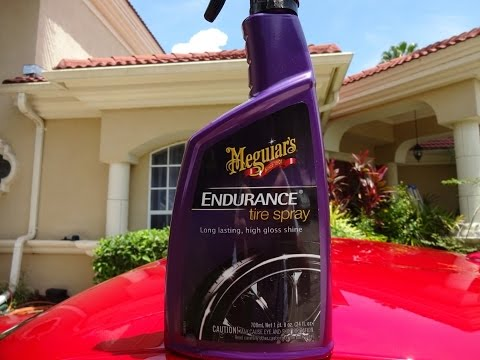 Meguiars Endurance Tire Spray Review and Test Results on my Nissan 370z