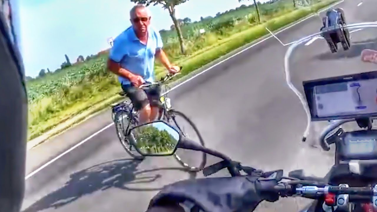 Stupid, Crazy & Angry People Vs Bikers 2018