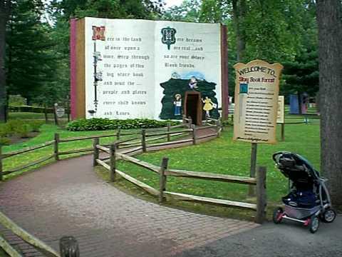 Idlewild Park Story Book Forest Walk Thru ( pt. 1 of 4 )