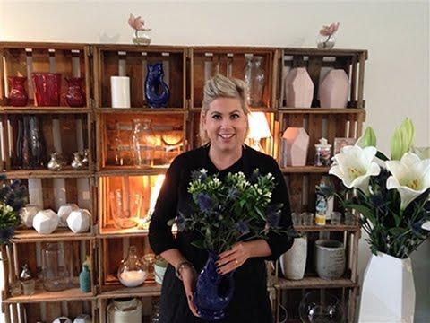 Blumen In Der Vase Richtig Arrangieren Blumen Der Woche Lilien