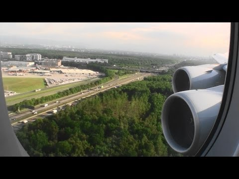 Willkommen in Deutschland!!!  Massive HD A380-800 Landing in Frankfurt on Lufthansa!!!
