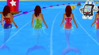 MERMAID RACE App english | WHO IS THE FASTEST? Mermaid Race 2016