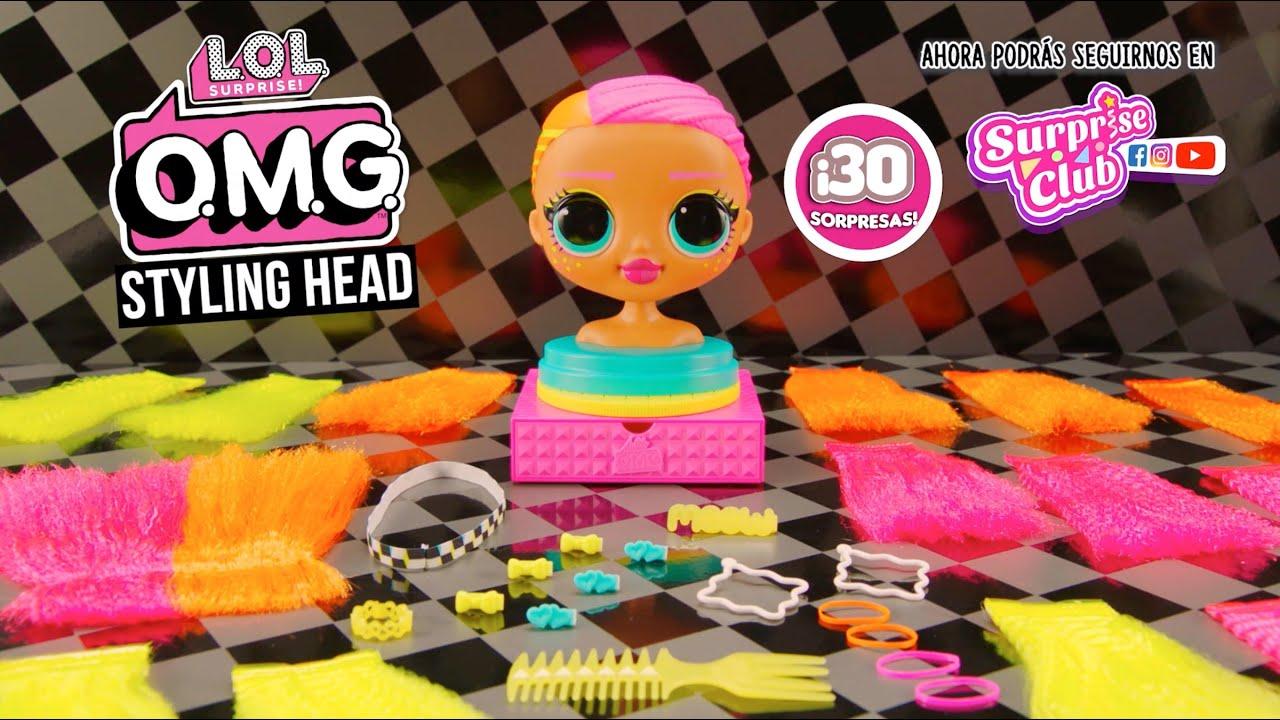 L.O.L. Surprise! O.M.G. cabeza de peinar Neonlicious | Anuncio TV
