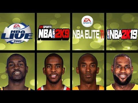 Highest Rated Basketball Players Ever NBA 2K Vs NBA Live (1999 - 2019)