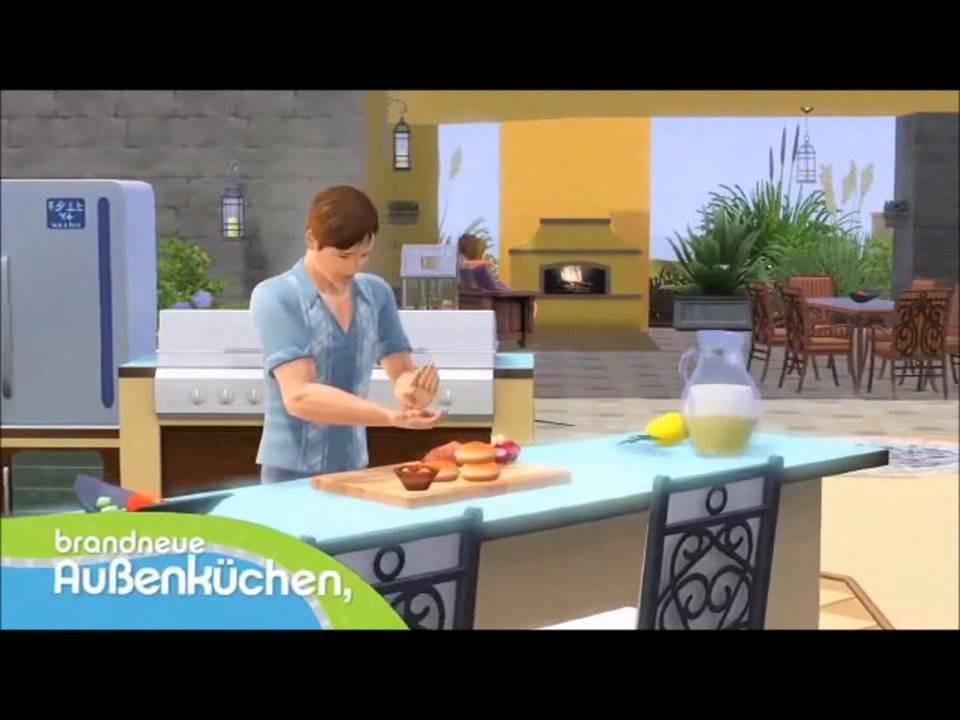 Die Sims 3 Design Garten Accessoires Trailer YouTube