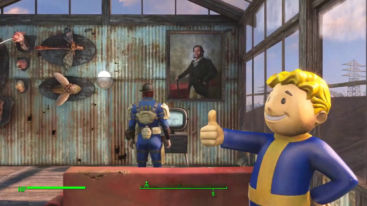 scorpio plays fallout 4 part 50 apocalyptic vault rescue youtube. Black Bedroom Furniture Sets. Home Design Ideas