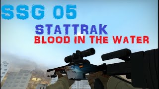 "CS:GO - SSG 08 ""STATTRAK BlOOD IN THE WATER"" (FACTORY NEW)"