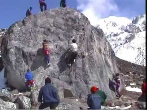 Climbing Everest  - Training at Himalayan Mountaineering Institute