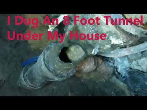 Plumbing Repair – Tunneling Under a Slab Foundation