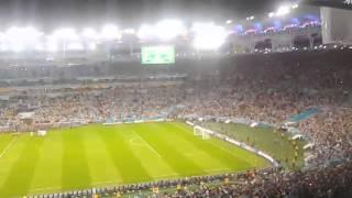 Vamos vamos Argentina vs Bosnia - Brasil 2014
