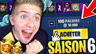 I'm BUYING ALL THE COMBAT SAISON 6 AND I DISCOVER THE NEW MAP ON FORTNITE BATTLE ROYALE !!!