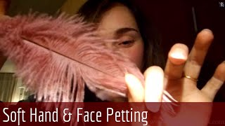 ASMR Whispering - Gentle Feather Relaxation