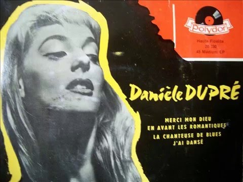 Daniele Dupré / j'ai dansé / 1957