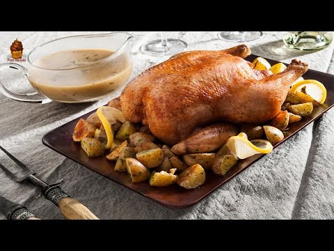 Roast Chicken Recipe | Over Roasted Chicken from Scratch
