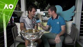 Roger Federer reflects on his 'awkward' match point   Australian Open 2017