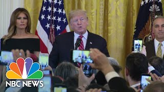 Trump Honors Parkland And Tree of Life Victims At Hanukkah Reception | NBC News