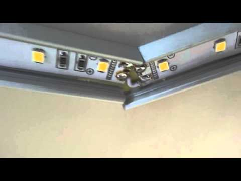 Инсталляция светодиодной подсветки на кухне