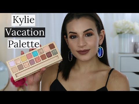 Kylie Cosmetics Take Me On Vacation Kyshadow Palette | Review + Swatches