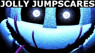 JOLLY 3: Chapter 1 & 2 - Jolly Animatronic Jumpscares (FNAF Horror Game 2018)