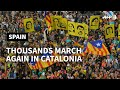 More than half million people rally in Barcelona   AFP