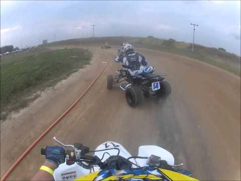 Mid America Speedway ATV flat track racing 2015