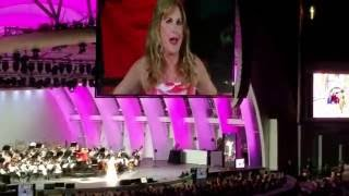 "Jodi Benson Hollywood Bowl ""Disneyland"" from ""Smile"" 6/6/16"