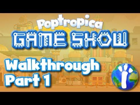 Poptropica Game Show Island Walkthrough Part 1